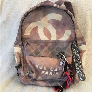 Non-Authentic Chanel canvas bag